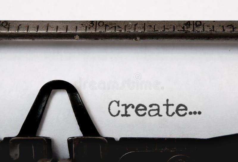 创建 免版税库存图片