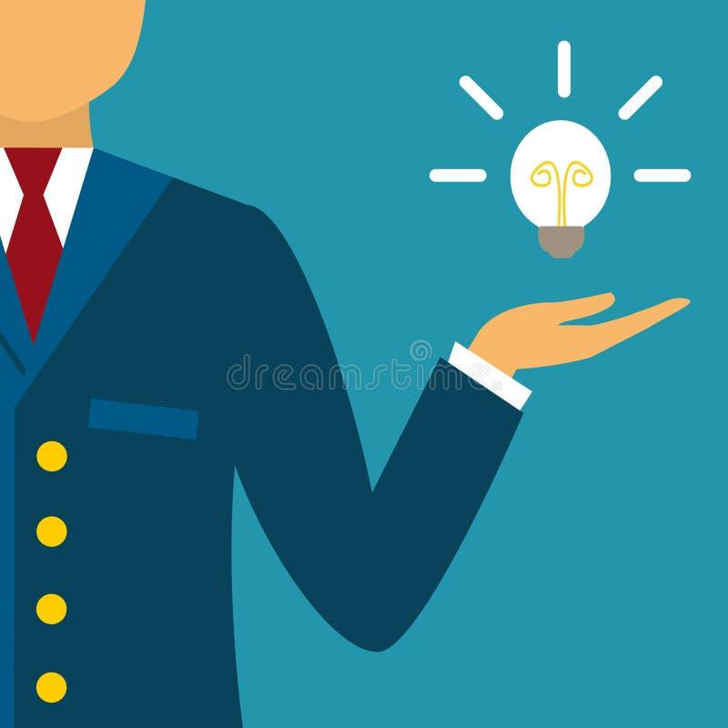 创新企业想法 向量例证
