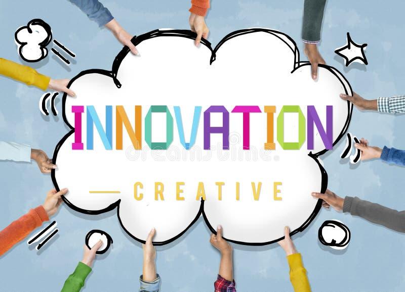 创新创造性的设计想法想象力概念 向量例证