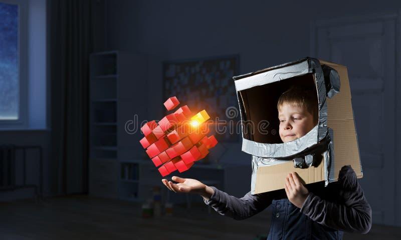 创新印象深刻的技术 免版税库存图片