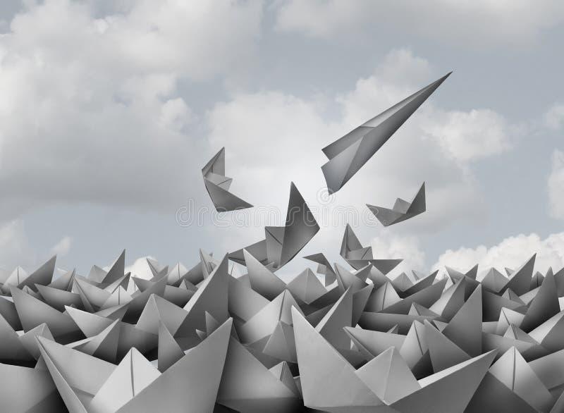 创新和机会 库存例证