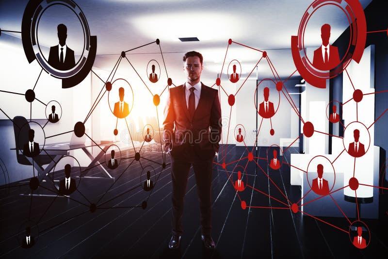 创新和聘用的概念 库存图片