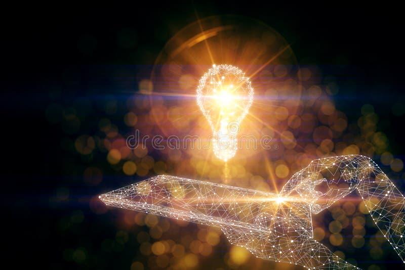 创新想法 库存例证