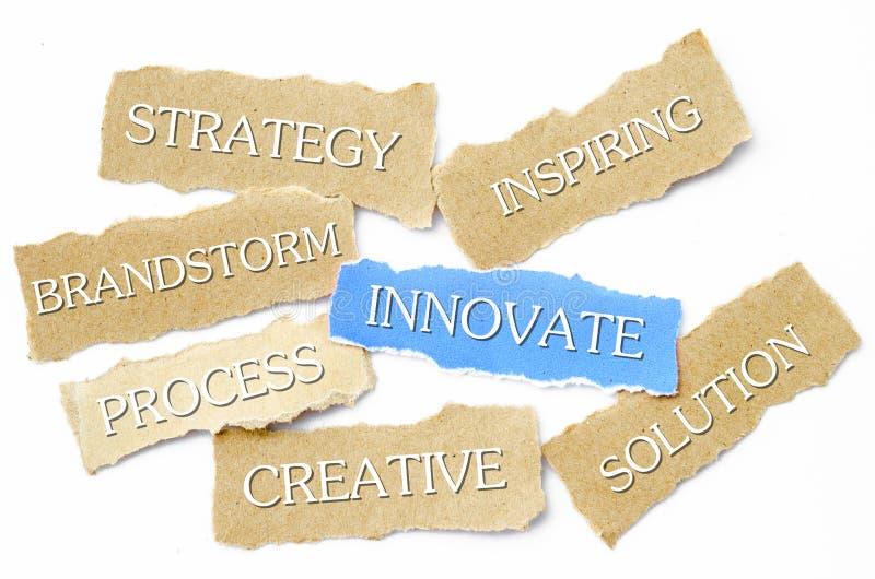 创新概念 库存例证