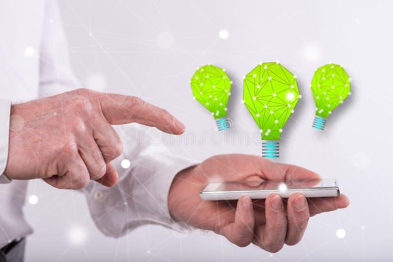 创新的概念 免版税库存照片