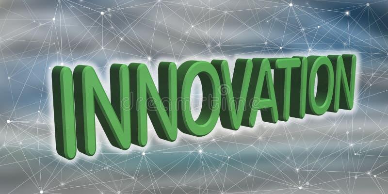 创新的概念 皇族释放例证