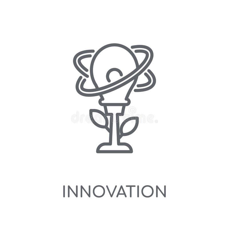 创新线性象 现代概述创新商标概念o 向量例证