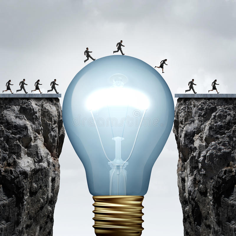 创造性事务 向量例证