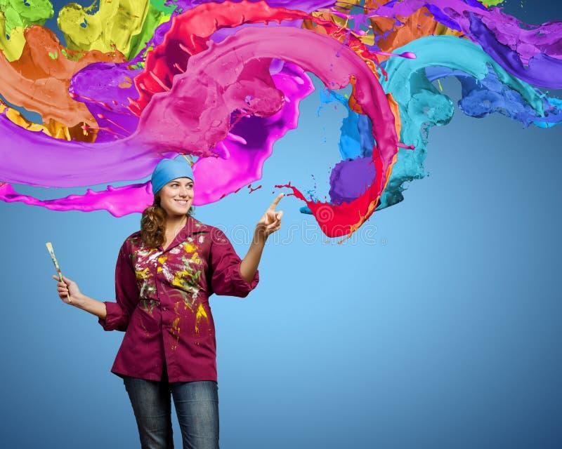 创造性和艺术 免版税库存图片