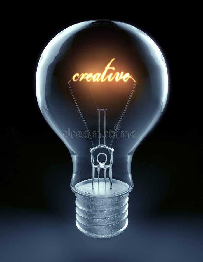 创造性思为 皇族释放例证