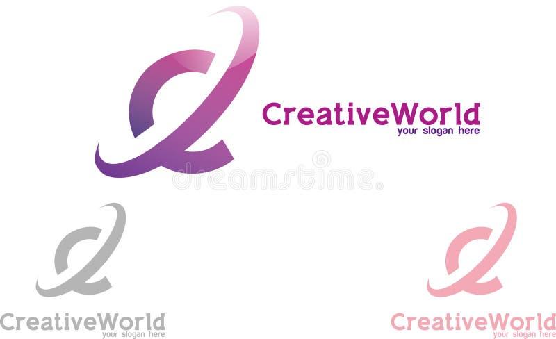 创造性的世界 库存图片