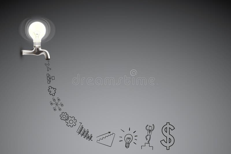 创造性的事务和想法概念 免版税库存图片