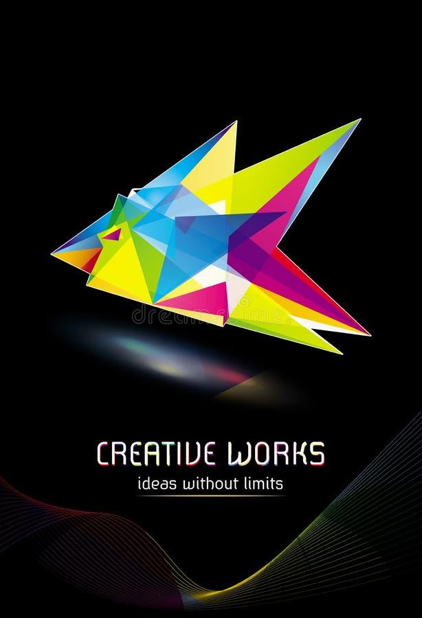 创造性的公司设计 向量例证