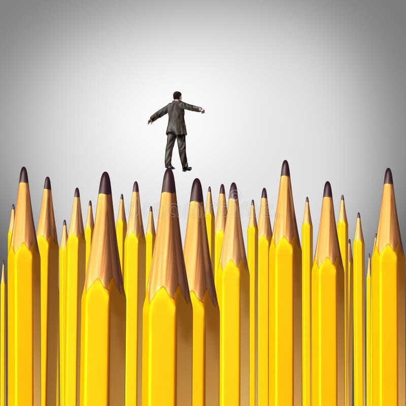 创造性的决定 向量例证