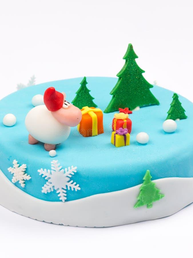 创造性的可口蛋糕 库存照片