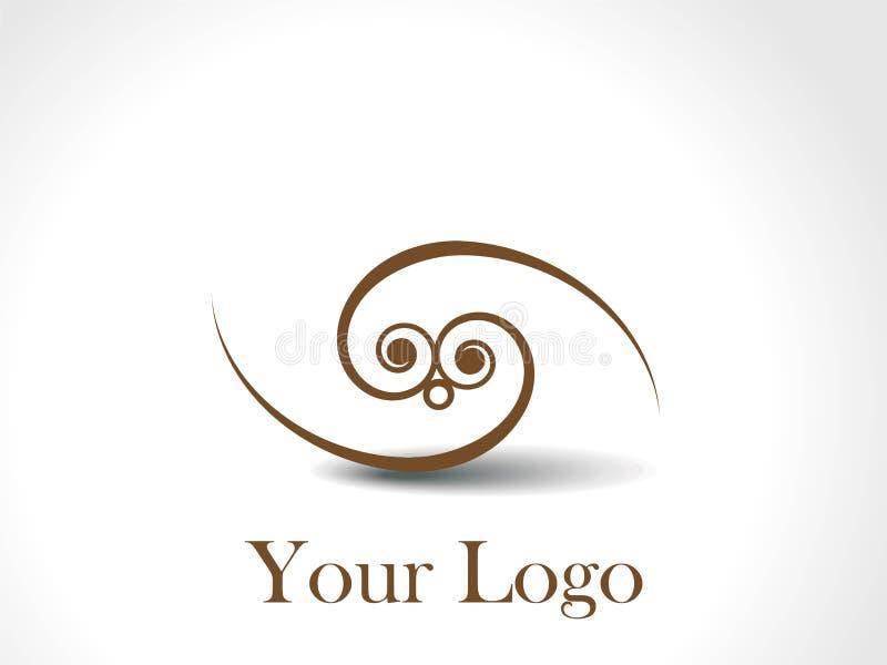 创造性的徽标 皇族释放例证