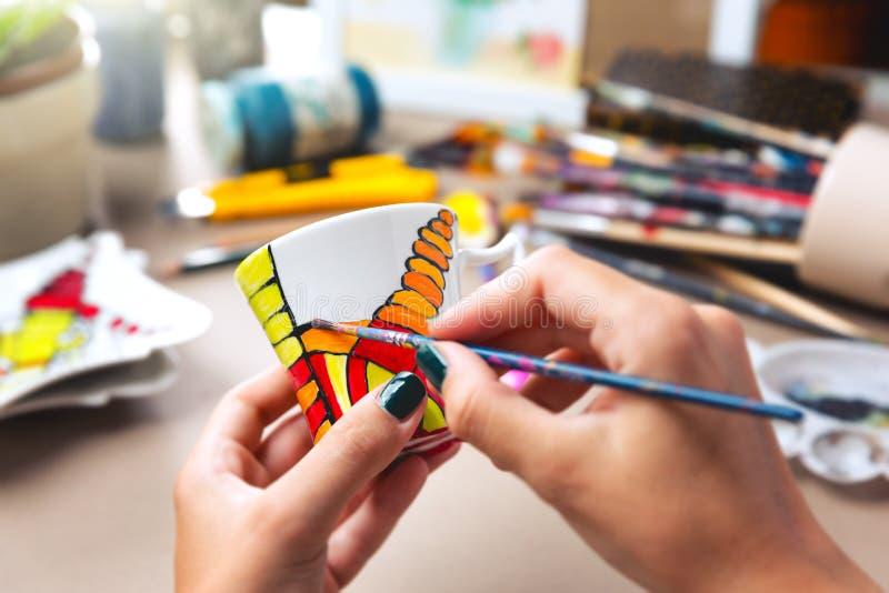 创造性的手工制造工艺 免版税库存照片