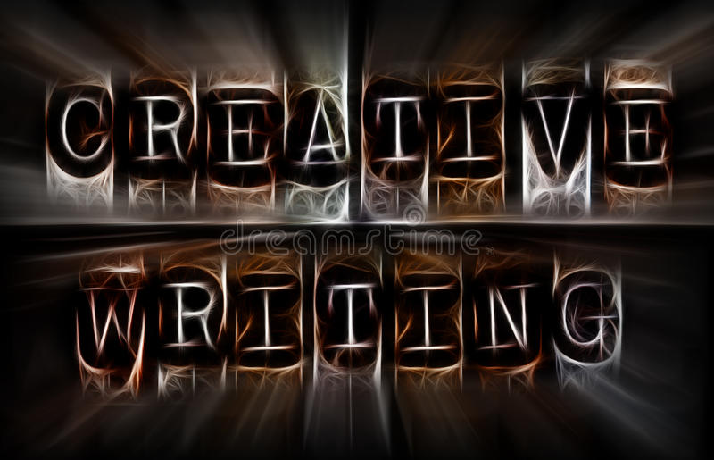 创造性的文字概念 免版税库存照片