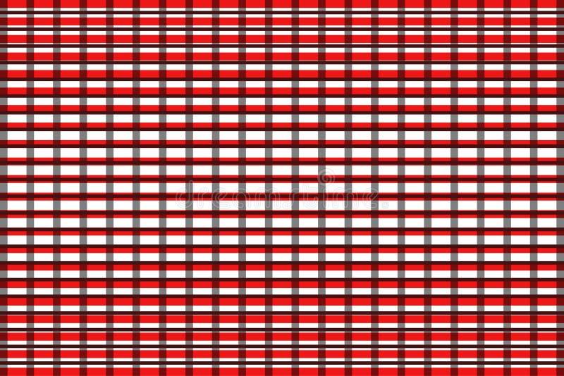 创造性的方格花布样式 向量例证