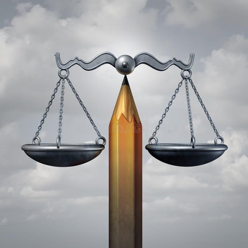 创造性的法律 库存例证