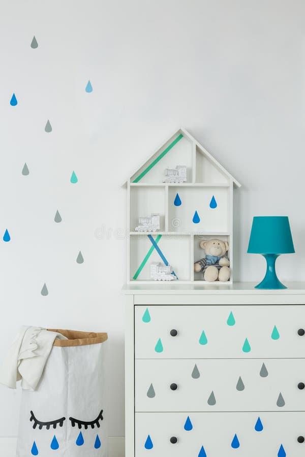 创造性的男婴室 图库摄影