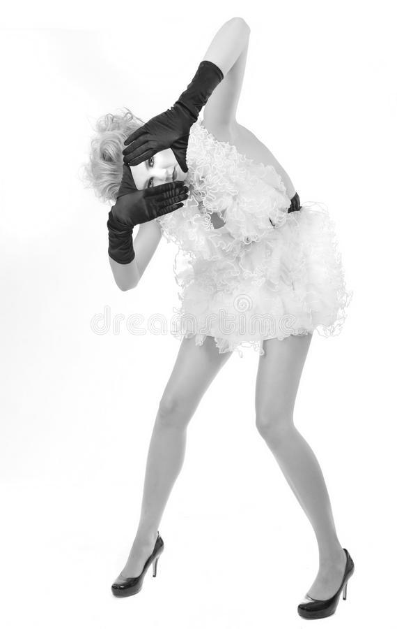 Download 创造性的笑剧成套装备的时髦的女人 库存照片. 图片 包括有 时髦, 工作室, 表面, 纵向, 方式, 紫色 - 30329308