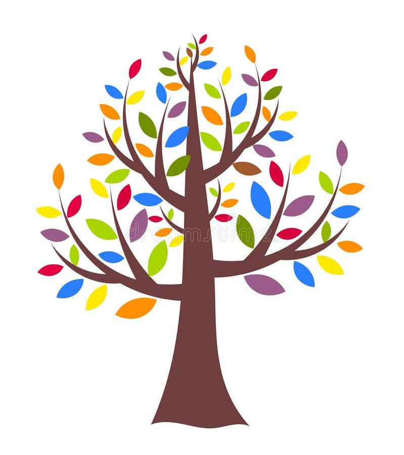 创造性的结构树 皇族释放例证