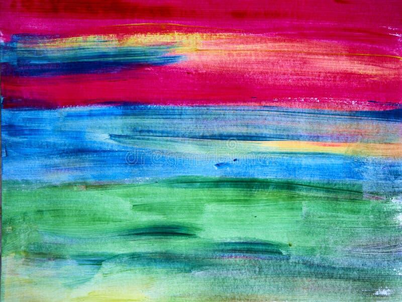 创造性的背景 美丽的图画 抽象纹理 Aquar 免版税库存图片