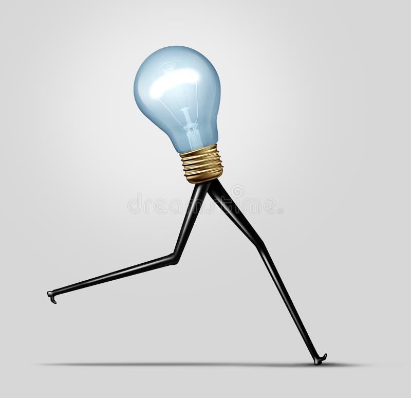 创造性的能量 库存例证