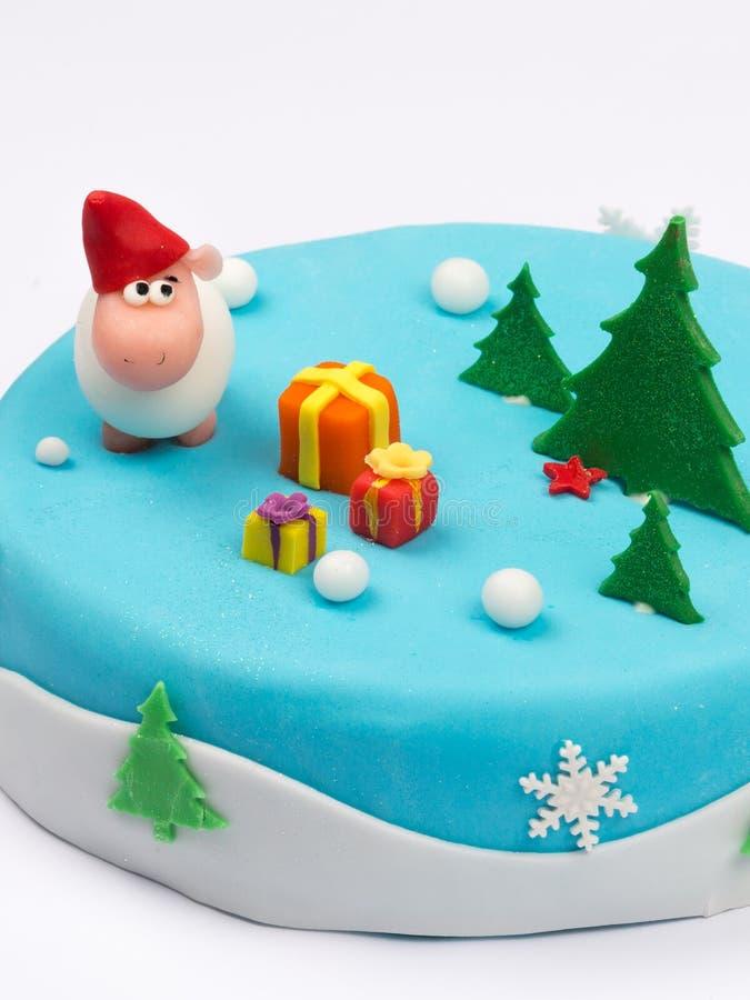 创造性的蛋糕 免版税库存照片
