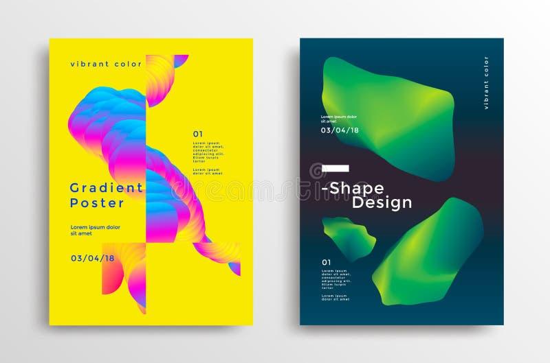 创造性的设计海报 库存例证