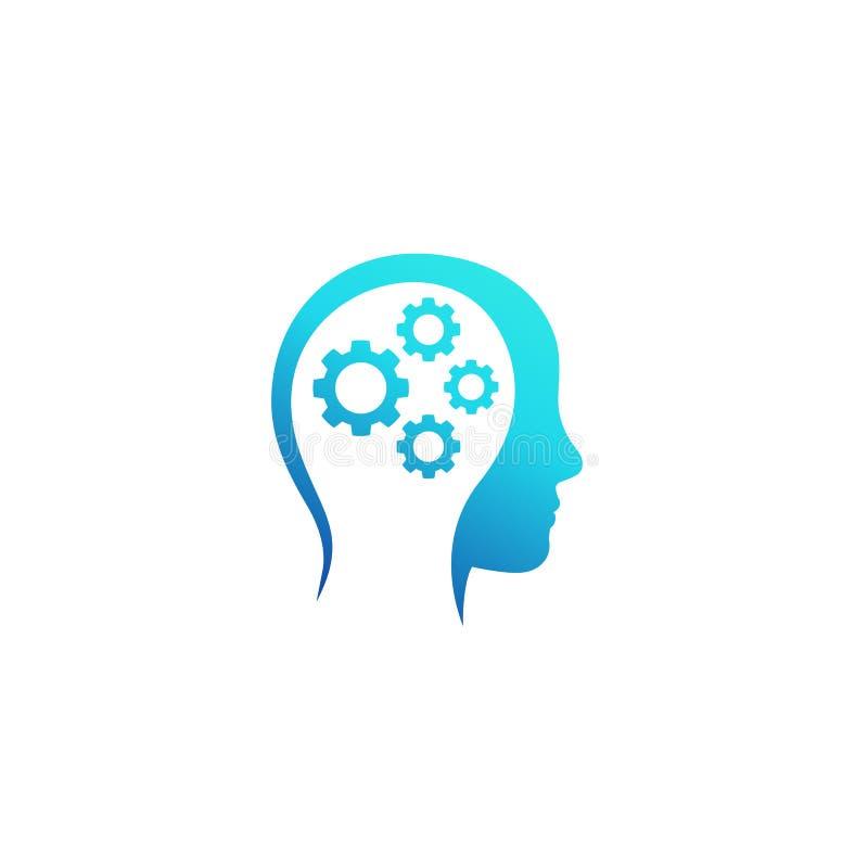 创造性,想法的传染媒介商标 向量例证