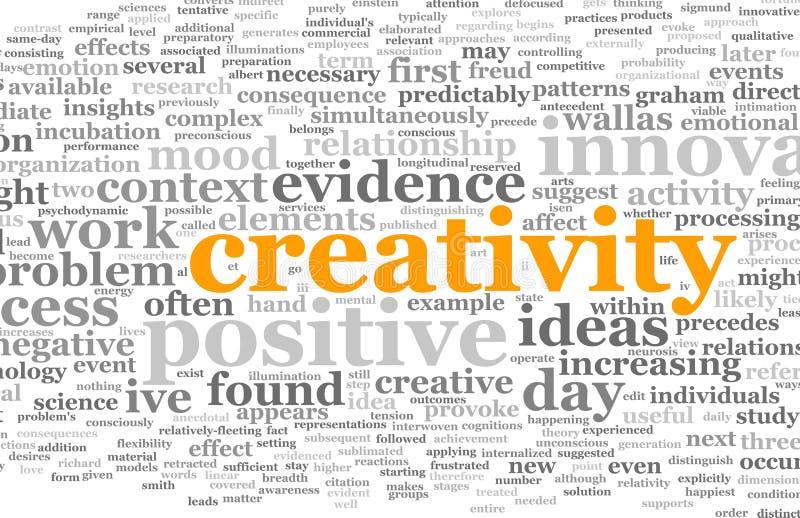 创造性 皇族释放例证