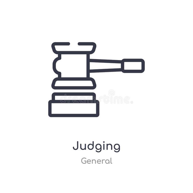 判断概述象 r 判断在白色的编辑可能的稀薄的冲程象 皇族释放例证