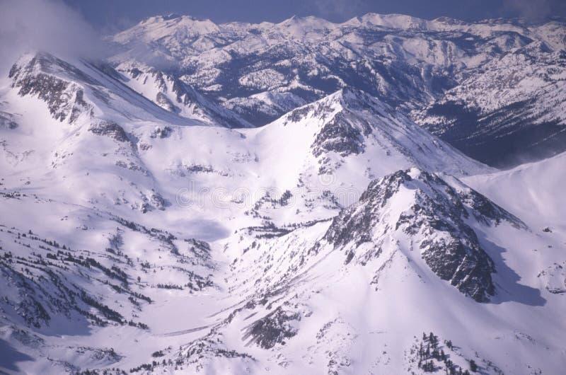 细刨花山,加利福尼亚 免版税库存图片