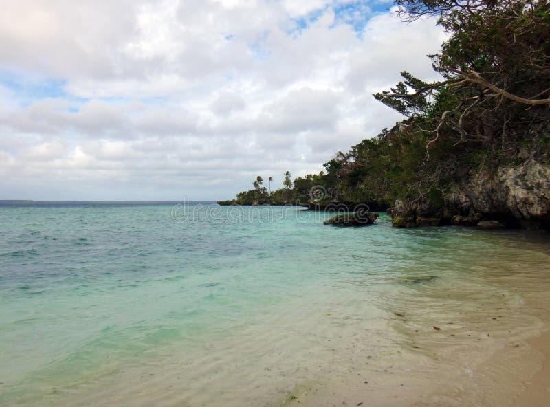 利富岛,洛亚蒂群岛,努美阿场面  库存照片