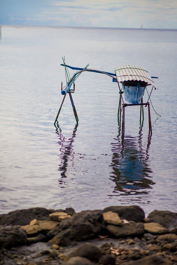 玻利尼西亚独木舟 库存照片