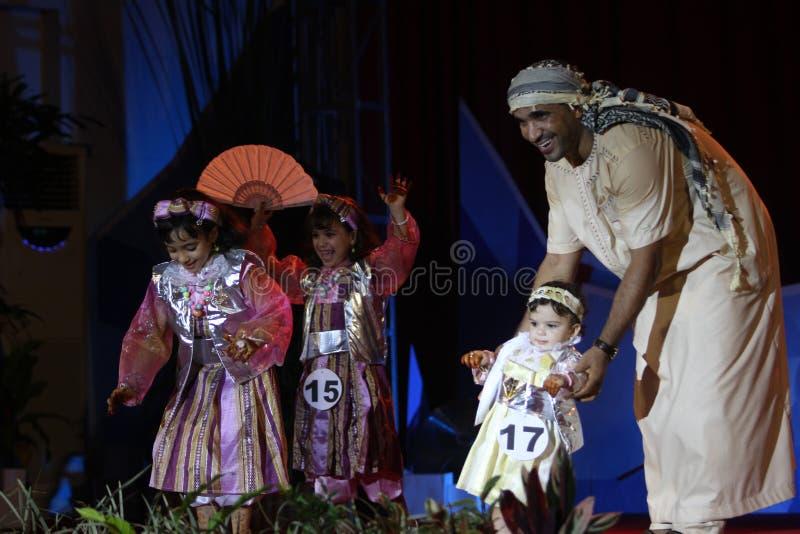 利比亚传统衣裳 免版税库存图片