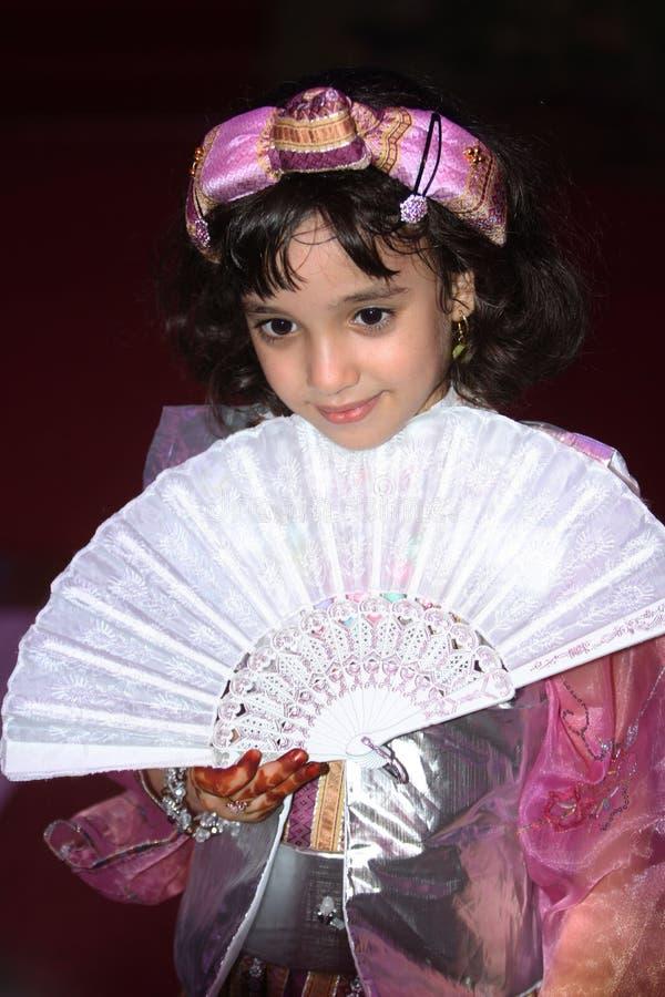 利比亚传统衣裳 免版税图库摄影