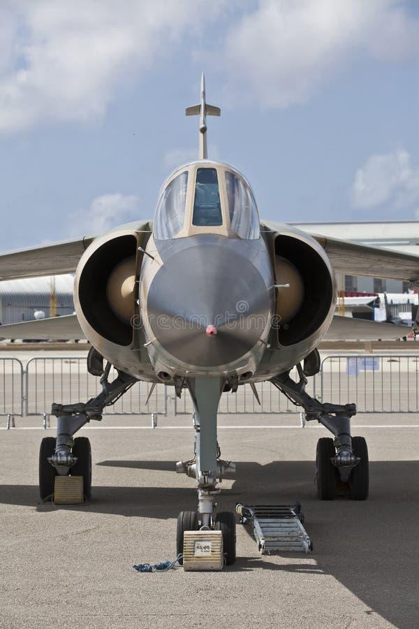 利比亚空军海市蜃楼F1 Reg 502 库存图片