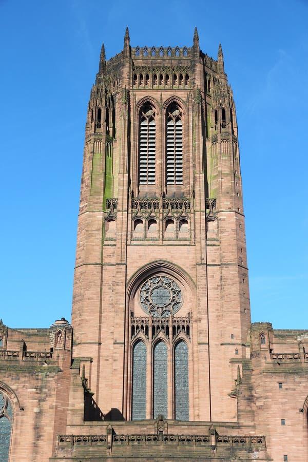 利物浦大教堂 免版税图库摄影