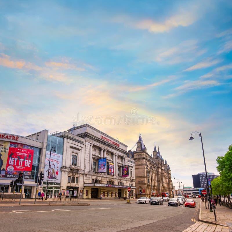 利物浦帝国剧院在利物浦,英国 免版税库存图片
