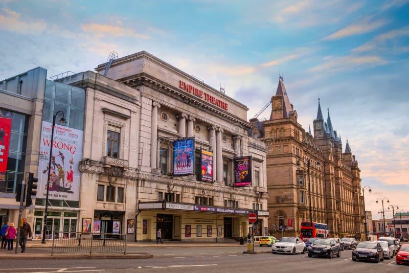 利物浦帝国剧院在利物浦,英国 库存照片