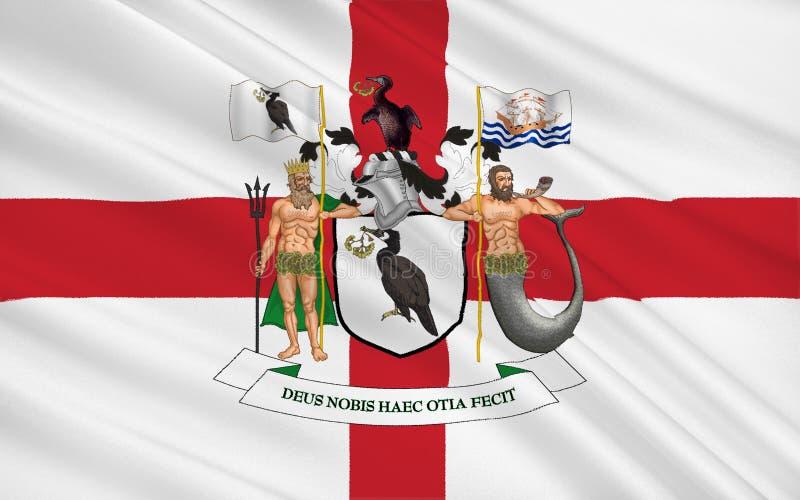 利物浦旗子在默西赛德郡,英国 免版税库存图片