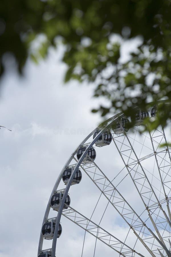 利物浦,默西赛德郡,英国,2014年6月11日,利物浦轮子船骨码头的,管理由弗拉杰轮子 免版税库存图片