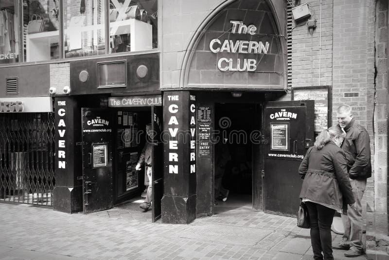 利物浦黑白色 免版税库存照片