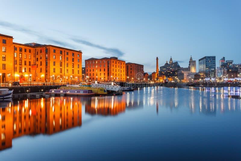 利物浦-英国 图库摄影
