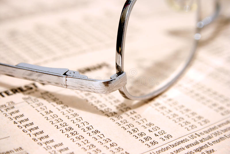 利率 免版税库存图片