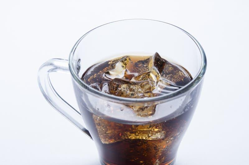 利益和冰的威士忌酒 免版税库存照片