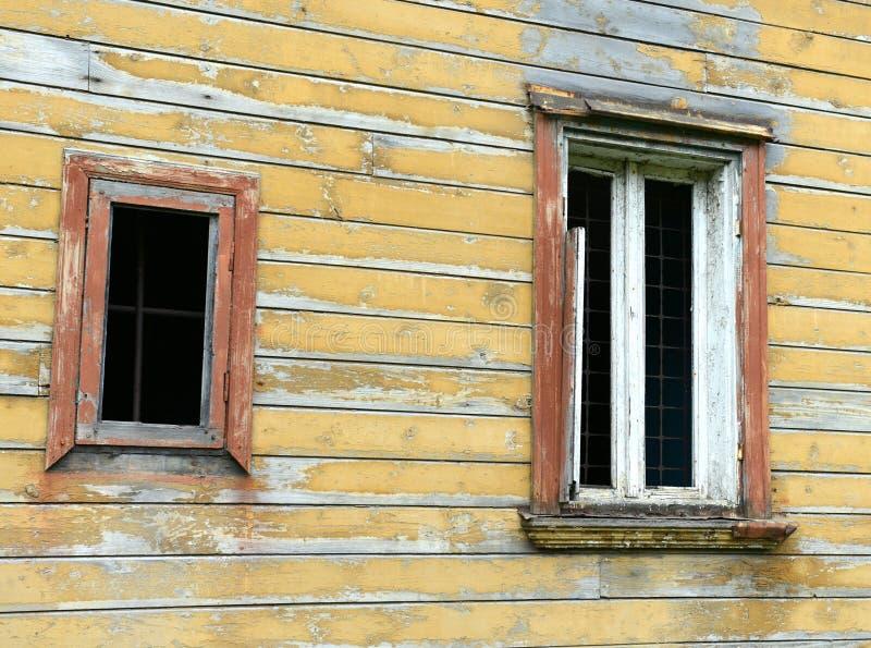 利耶帕亚,拉脱维亚- 2013年7月25日:详述od典型的老居民 库存照片